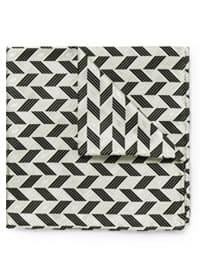 Mouchoir de poche en soie tissée à motifs Marwood