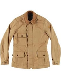 Paul Smith Jeans Mens Contrast Collar Tan Brown Field Jacket