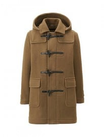 Uniqlo Men Wool Blended Duffle Coat