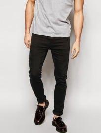 Cheap Monday Jeans Tight Skinny Fit En Nouveau Noir