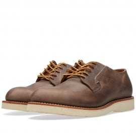 Red Wing 3106 Heritage Work Postman Oxford Concrete Rough & Tough