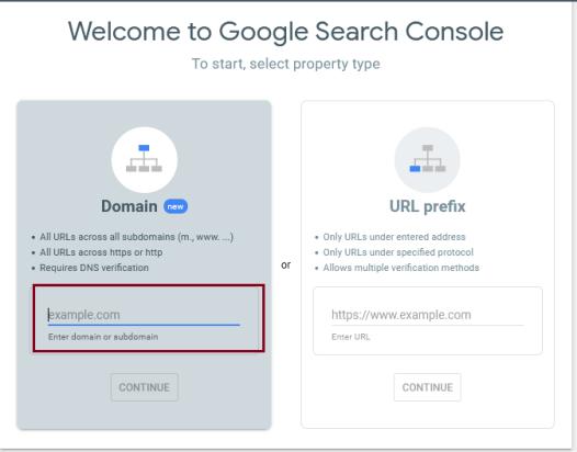 Verify domain ownership in Google Search Console via DNS record through cPanel