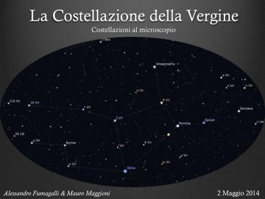 Caffè astronomico: la Vergine