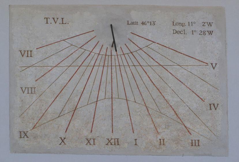 Orologio Solare Spormaggiore (TN)
