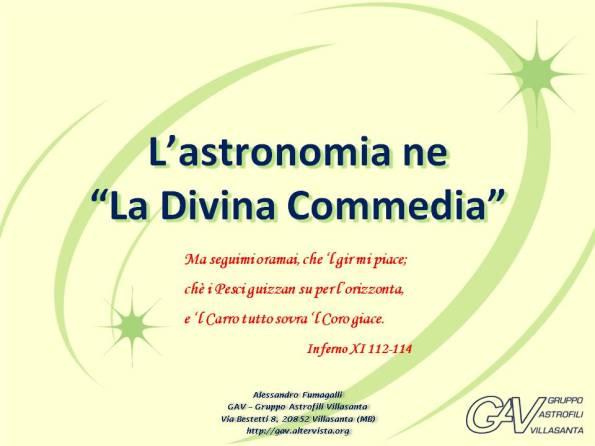 Dante e l'astronomia