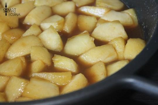 manzanas cocidas