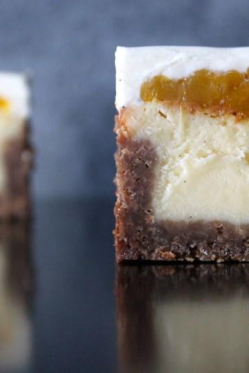 cheesecake con mango