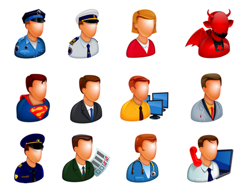 Articulate Rapid E-learning Blog - free people icons example 3