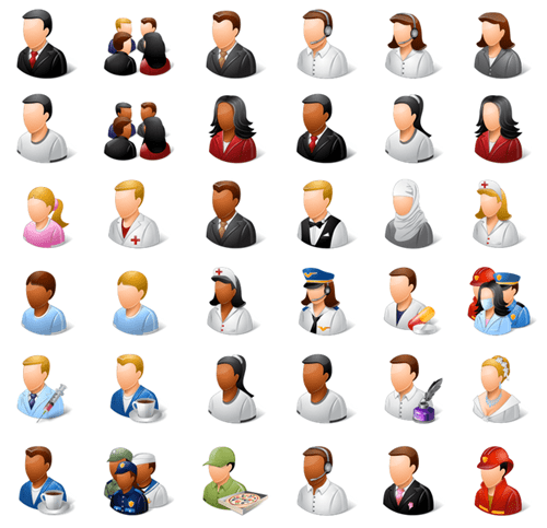 Articulate Rapid E-learning Blog - free people icons example 5