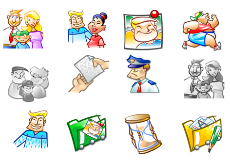 Articulate Rapid E-learning Blog - free people icons example 6