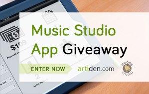 Music Studio Management App Giveaway via Artiden