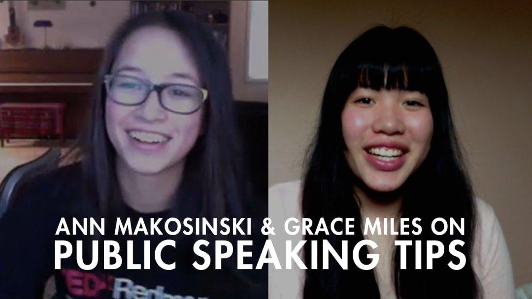 Ann Makosinski and Grace Miles