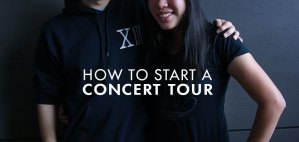 How to start a concert tour across the country