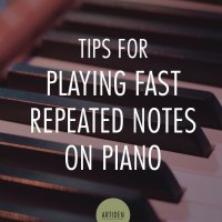 Tips for Playing Faster Repeated Notes on the Piano