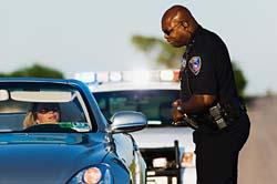 Police Car woman