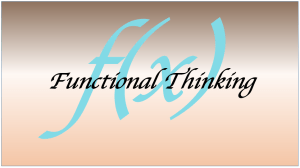Functional Thinking pix