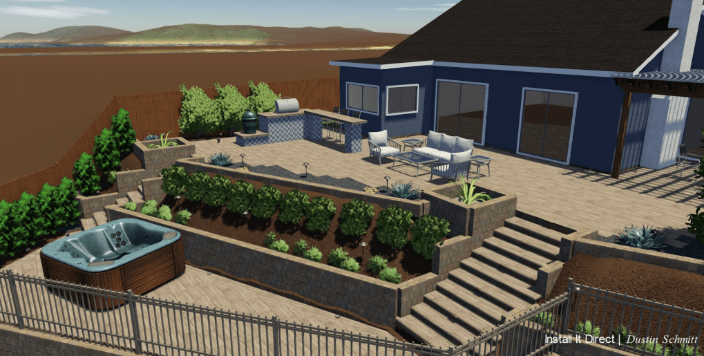 How To Plan A Landscape Design Buy Install And Maintain