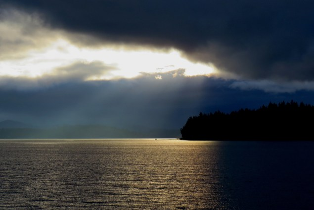 Dark or Light? Should we predict storms or sunshine?