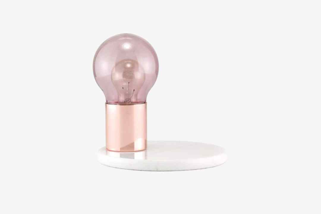 Lampe De Table Glow Rose/Nude