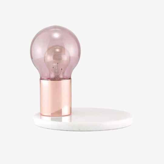 Lampe De Table Glow Rose/Nude