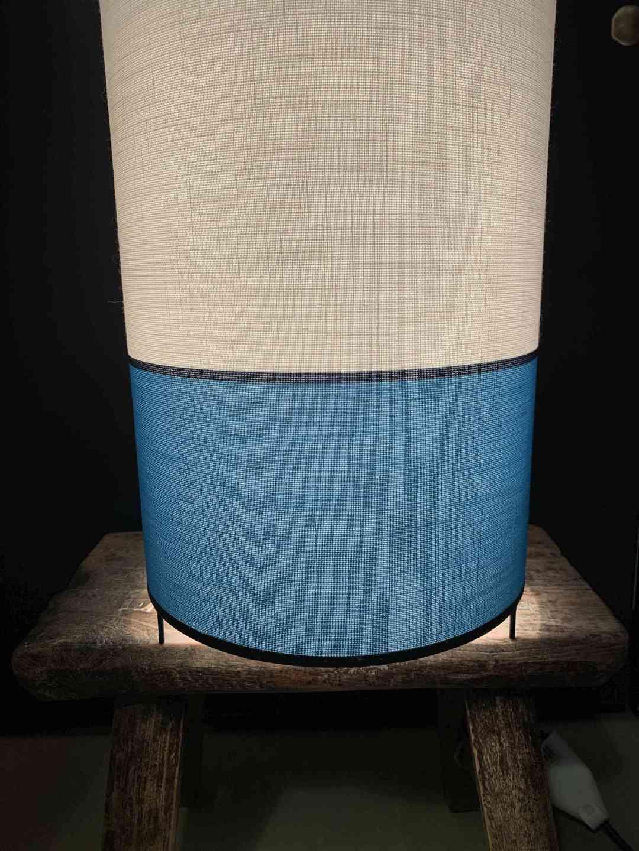 Lampe 3 Pieds Helena Bleu Turquoise