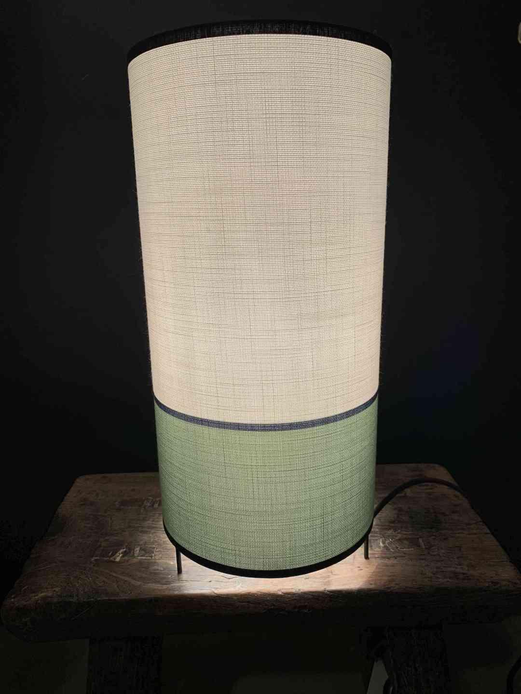 Lampe 3 Pieds Helena Verte Blanche