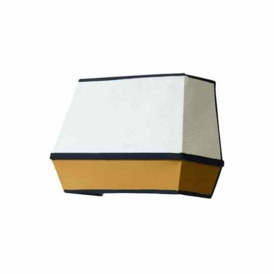 Applique Mandarin Jaune / Blanc