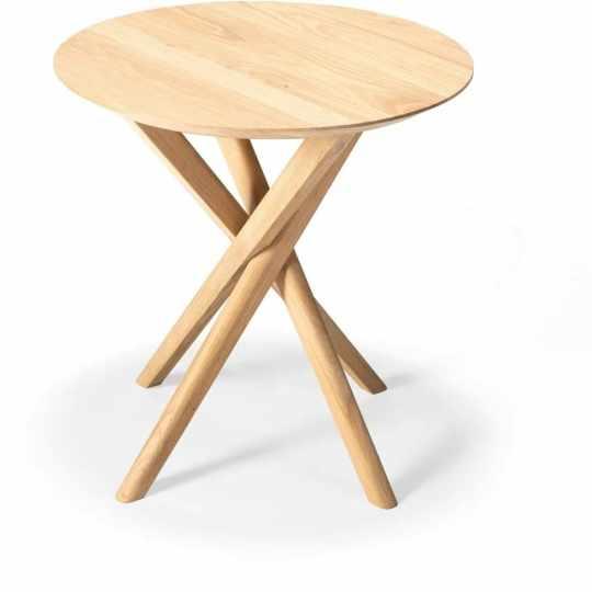 Table d'appoint Mikado en Chêne massif