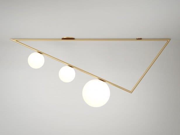 Lampe Triangle Suspension