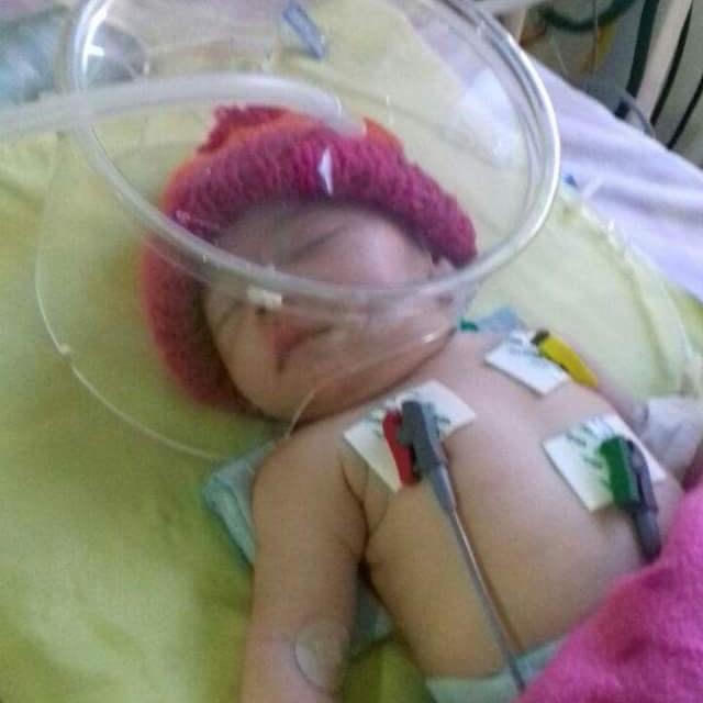 Bento Pacheco el bebé quaraiense que necesita de la ayuda de todos