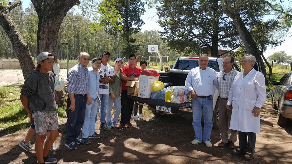 Rotary Artigas realizó importante donación al internado de varones de Javier de Viana