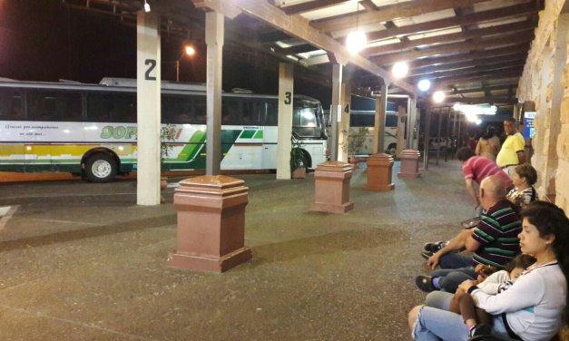 El uno de noviembre habrá paro nacional de transporte,el último coche hacia la capital saldrá el 31 a las 23 horas .