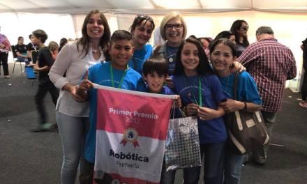La Escuela 36 logró el primer puesto en Las Olimpiadas de Robotica