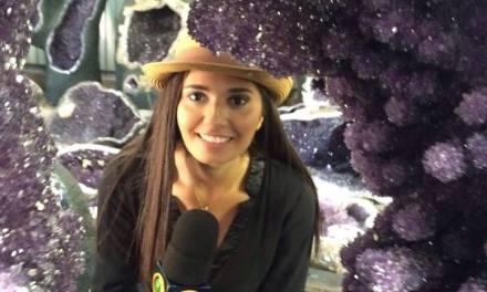 TV Band estuvo en Artigas para difundir el carnaval y mostrar las piedras preciosas