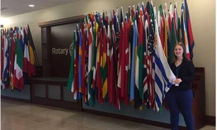 Artiguense integra el comité internacional de jóvenes rotarios en Chicago