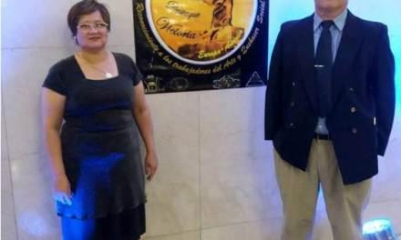 Lucía Felartigas y Marcos Arzuaga recibieron los premios Victoria