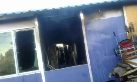 Familia perdió todo en un incendio
