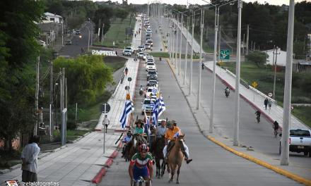 MULTITUDINARIA CARAVANA DE LOS AUTOCONVOCADOS