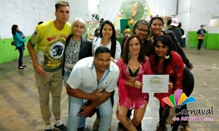 MUSA DE LA ESCUELA DE SAMBA AYUI REPRESENTÓ NUESTRO CARNAVAL EN URUGUAYANA
