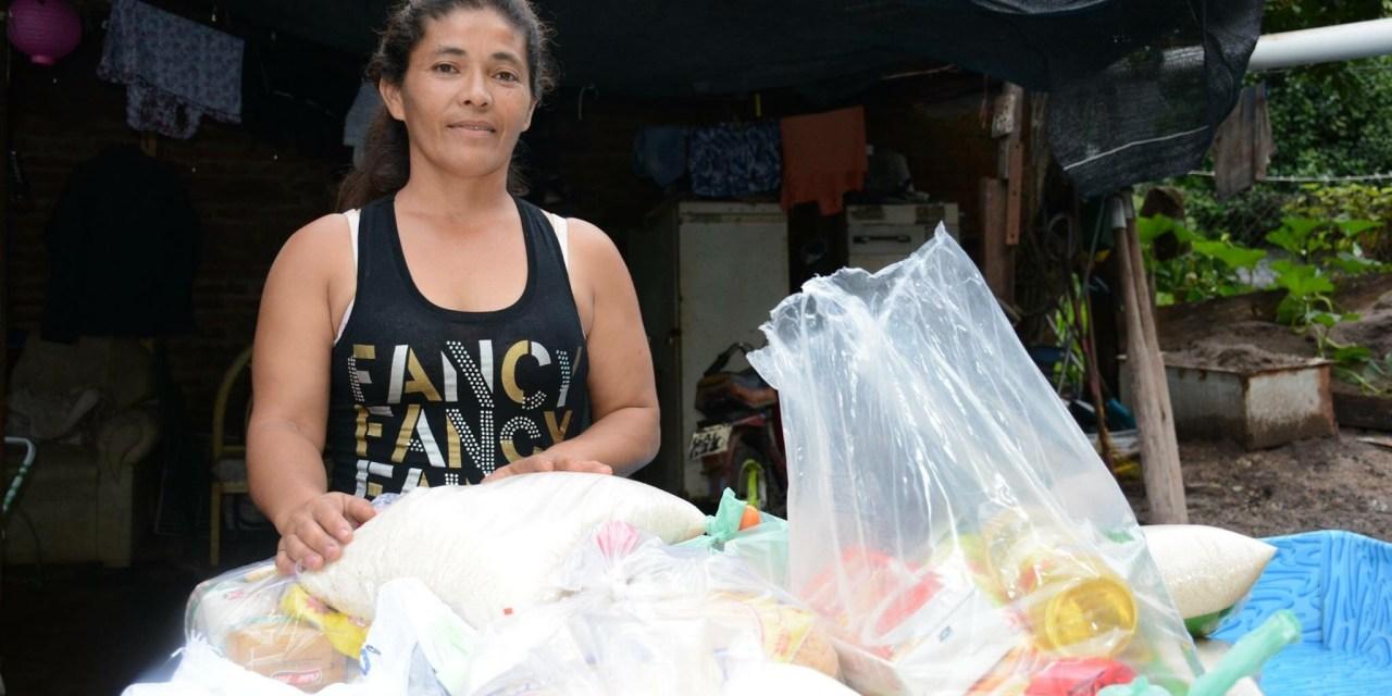ARENEROS DE BARRIO AYUI REALIZAN OLLA POPULAR PARA LAS FAMILIAS AFECTADAS POR LA CRECIENTE DEL CUAREIM