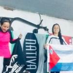 ANDREA PEREIRA VOLVIÓ A SUBIR AL PODIO EN ESTA OPORTUNIDAD EN ROCHA