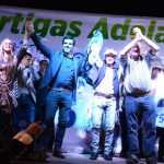 IMPONENTE ACTO DE LA LISTA DEL ESCRIBANO EMILIANO SORAVILLA EN BARRIO AYUI