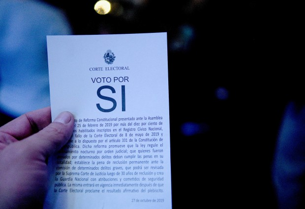"""Papeletas falsas de """"Vivir sin miedo"""" no anularán el voto, pero no suman a la reforma"""