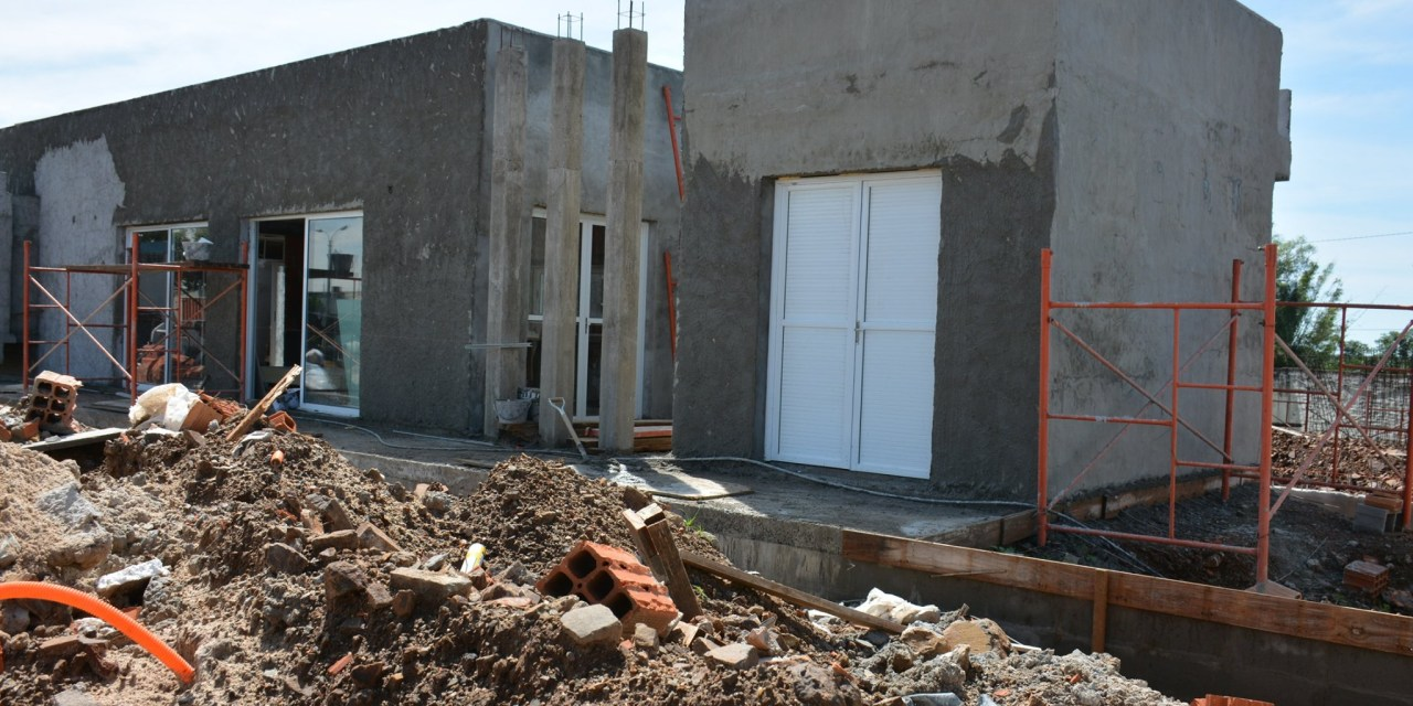 NOTORIO AVANCE EN LA OBRA DEL ALOJAMIENTO TRANSITORIO EN EL HOSPITAL DE ARTIGAS