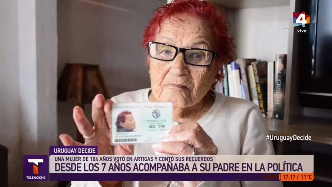 ALEJANDRINA: LA SUPER ABUELA CUMPLE 105 AÑOS.