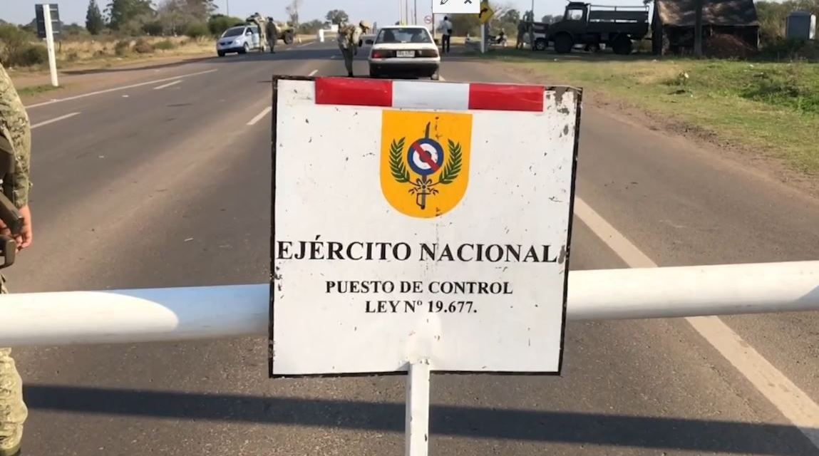 SE INCREMENTARON LOS CONTROLES SANITARIOS Y DE VIGILANCIA EN LA FRONTERA DE BELLA UNIÓN.