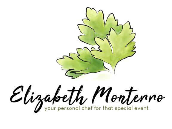 Elizabeth Monterro personal chef logo