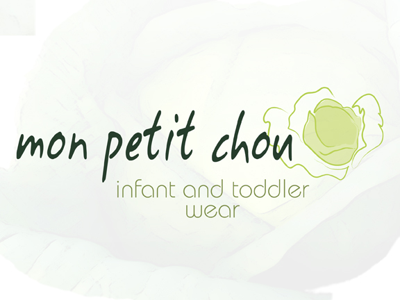 mon petit chou logo childrens' clothing