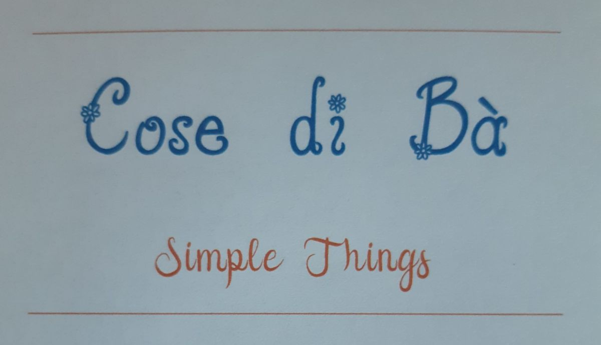Cose di Bà - Simple Things