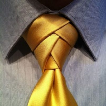 Model Dasi Eldredge Knot